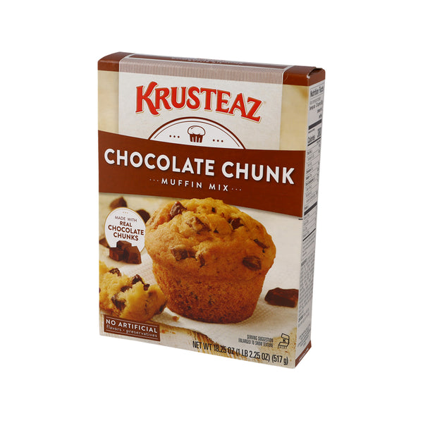 KRUSTEAZ Chocolate Chunk Muffin Mix  (517g)