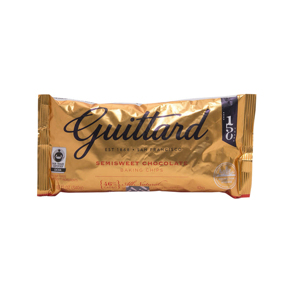 GUITTARD Semisweet Baking Chocolate Chips  (340g)