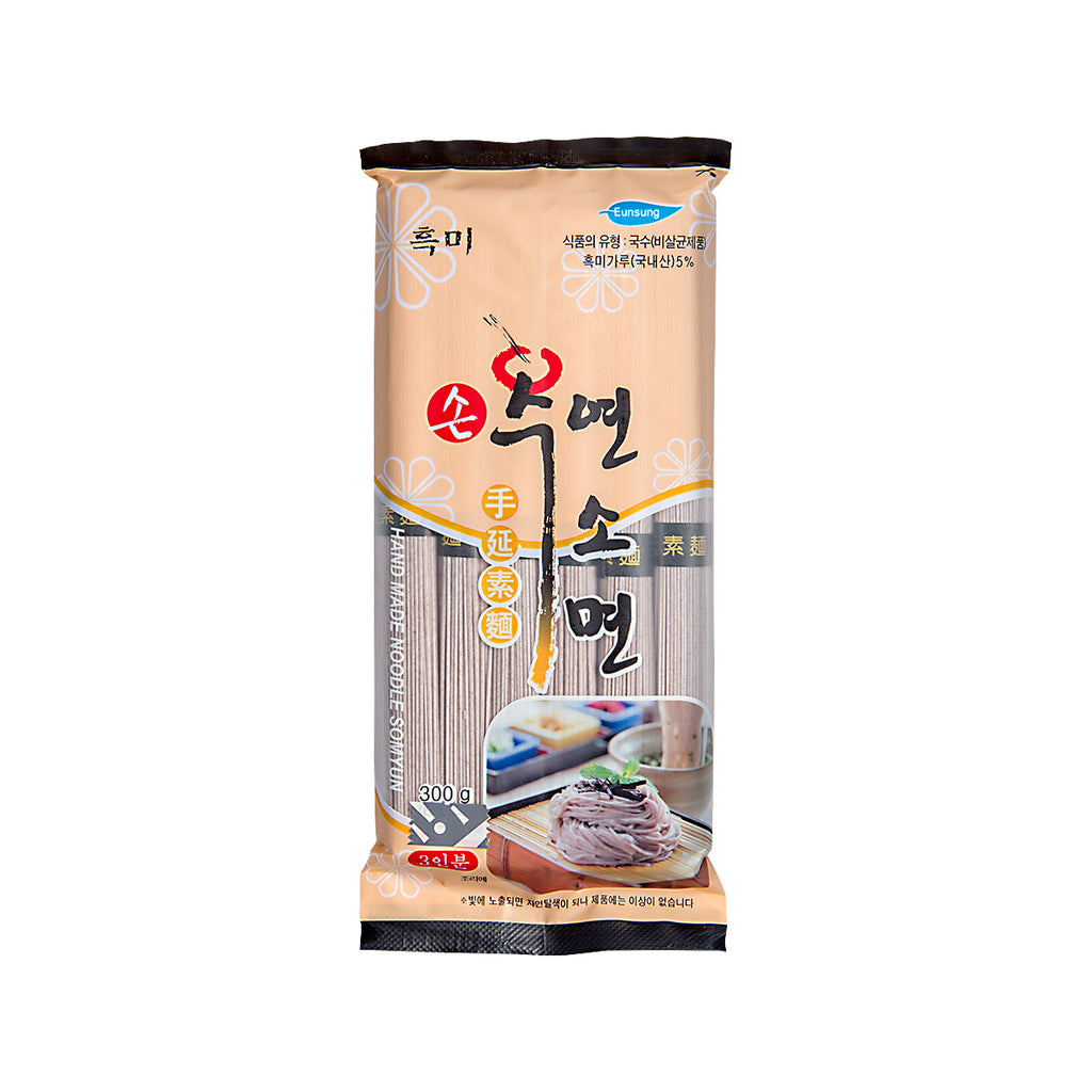 EUNSUNG Korean Black Rice Noodle  (300g)