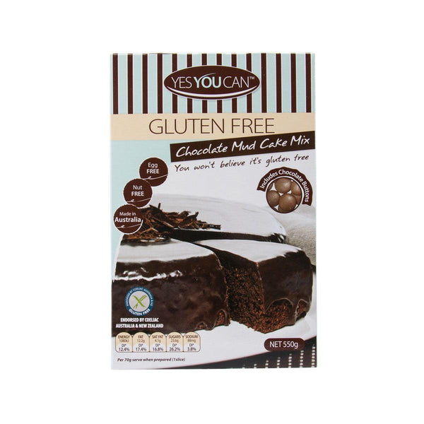 YESYOUCAN Chocolate Mud Cake Mix With Ganache  (550g)