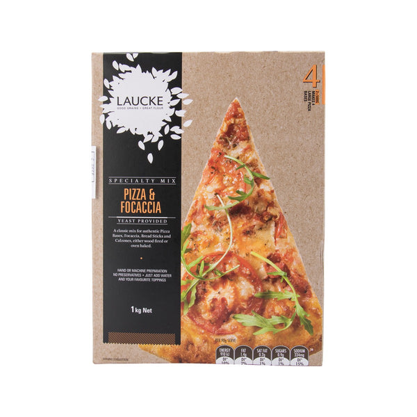 LAUCKE Specialty Mix - Pizza & Focaccia  (1kg)