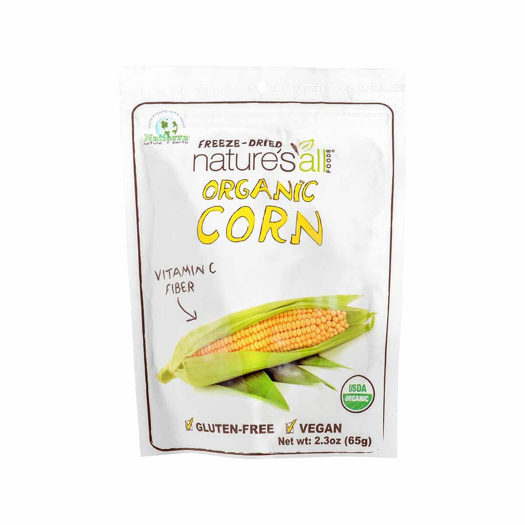 NATURE'S ALL Organic Freeze-Dried Corn  (65g)