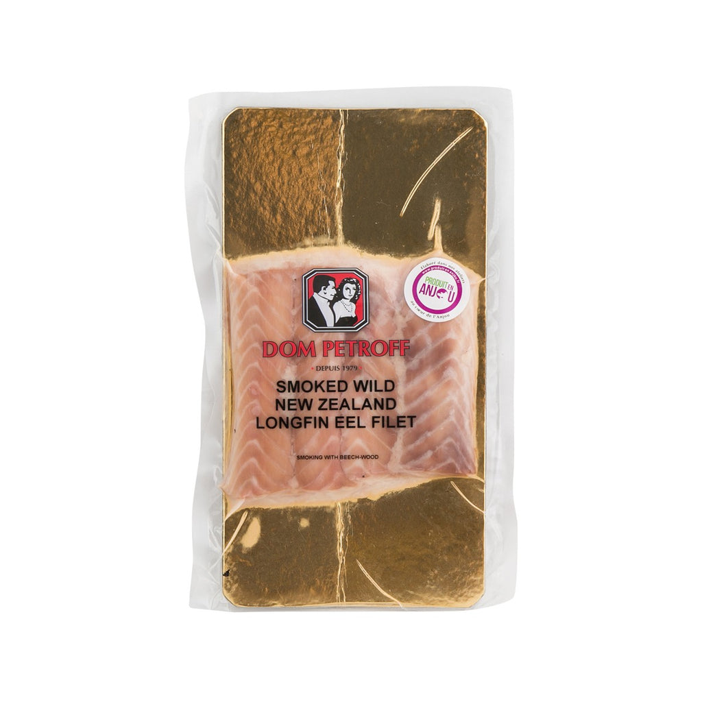 DOM PETROFF Smoked Wild New Zealand Longfin Eel Fillet  (120g)