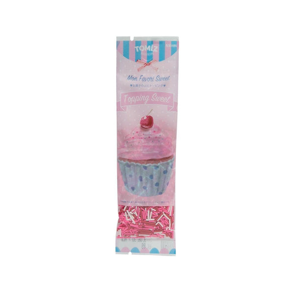 TOMIZAWA Topping Sugar - Pink Spray Mix  (8g)