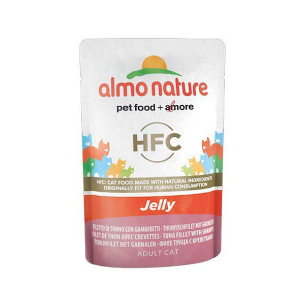 ALMO NATURE (5045) Cat Jelly 55g Tuna Fillet w/ Shrimps