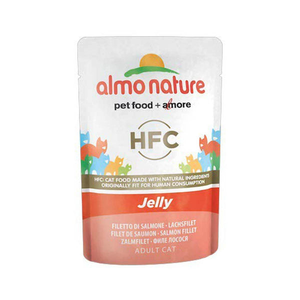 ALMO NATURE (5046) Cat Jelly55g Salmon Fillet