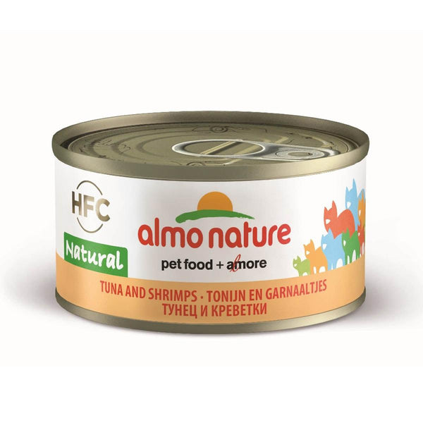 ALMO NATURE (9023) Cat 70g Tuna & Shrimps