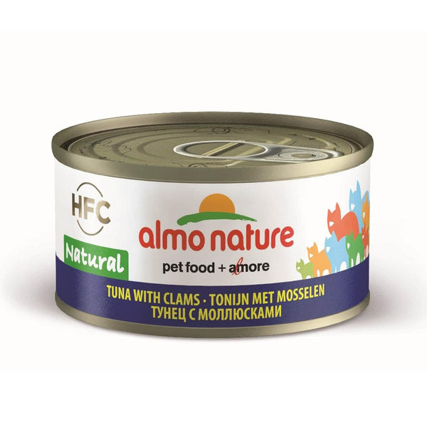 ALMO NATURE (9045) Cat 70g Tuna & Clams