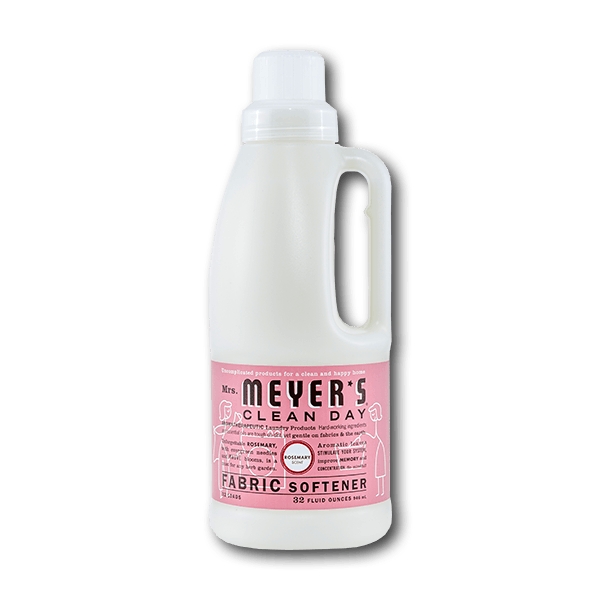 MRS. MEYERS Laundry Fabric Softener - Rosemary Scent  (32fl oz)