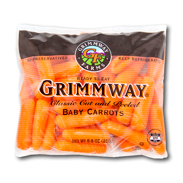 USA Peeled Baby Carrots  (250g)