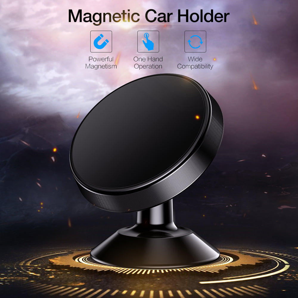Surface Mount Magnet Car Holder - Trekmor