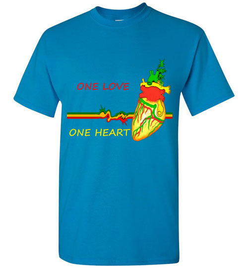 One Love One Heart Men's Tee