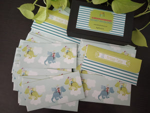 Money Envelopes for Kids - Dragons