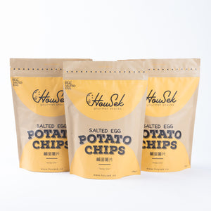 GOLDEN SALTED EGG POTATO CHIPS BUNDLE