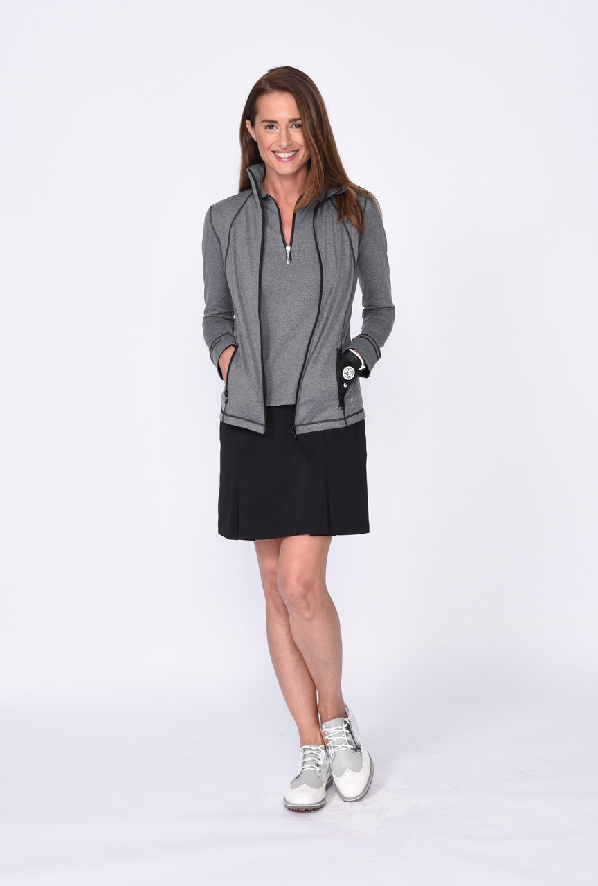 Women's GT Tech Jacket - Heather Grey