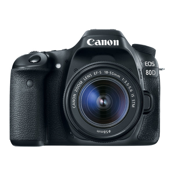 Canon EOS 80D DSLR Camera With 18-55mm IS STM Lens
