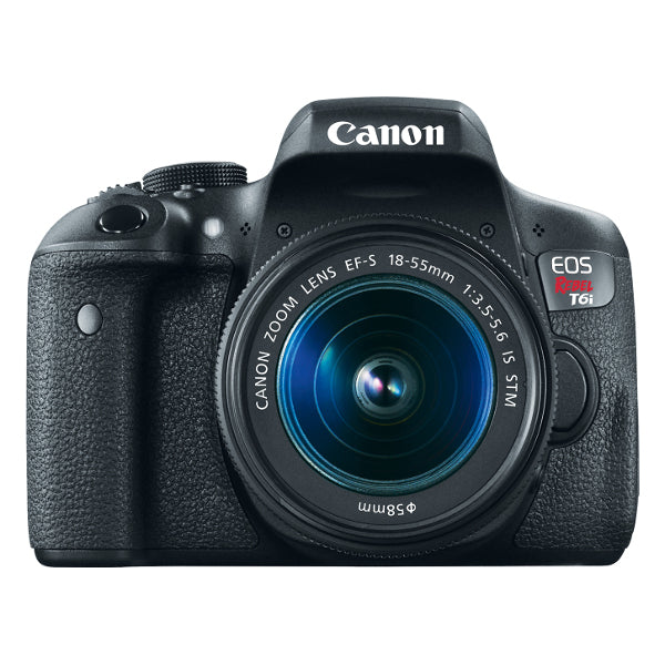 (DISCONTINUED) Canon EOS Rebel T6i DSLR Camera with 18-55mm Lens