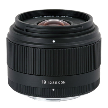 Sigma DN 19mm f/2.8 Prime Lens for Sony NEX (E Mount)