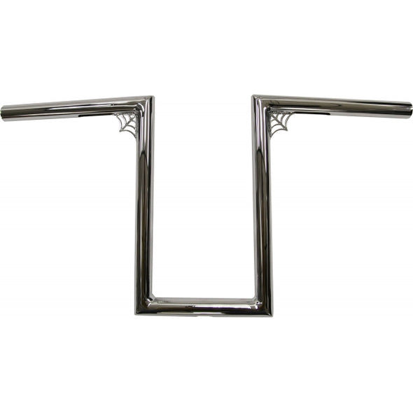 "1"" NARROW Z-BARS WEB 12"" TALL CHROME UNIVERSAL"