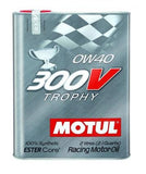 MOTUL Synthetic Ester Racing Oils 300V TROPHY 0W40 - 2L (2.1qt)