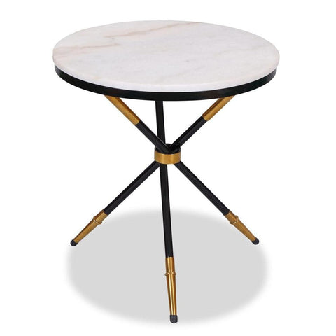 Eton Marble Side Table - Side Table