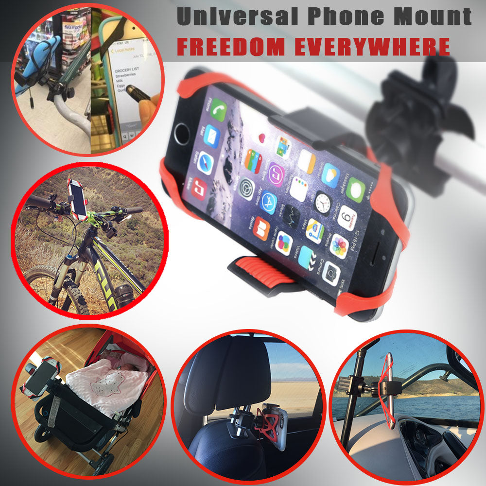 phone mount for shopping cart baby stroller