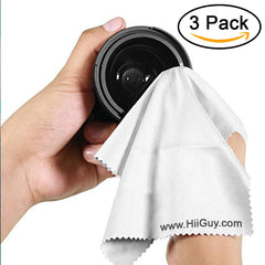 hiiguy microfiber cleaning cloth for camera lens