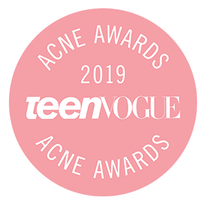 2019 teen vogue's acne award