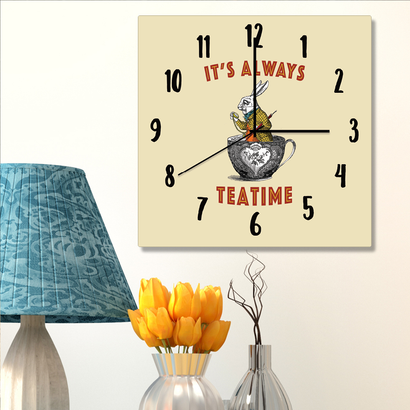 Clock - Always Tea Time