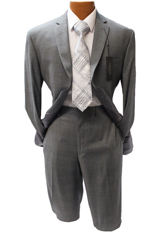 Andrew Marc New York Gray Check Modern Fit Suit