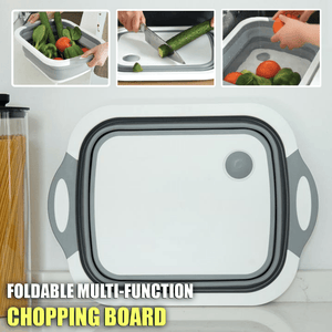 Collapsible Multi-Function Cutting Board