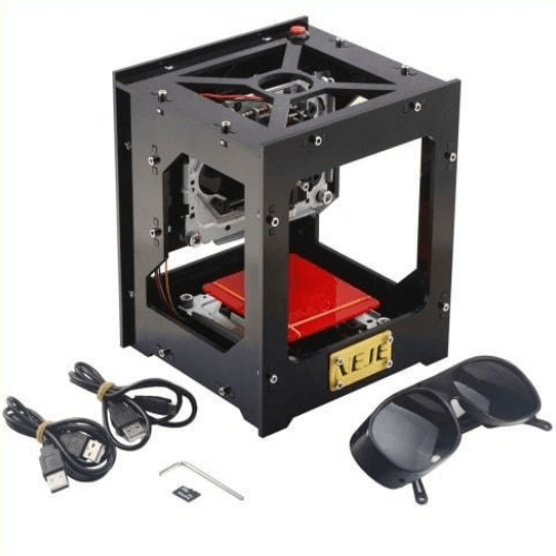 The Personal Laser Engraver is a Do-It-Yourself Laser Engraver high precision and high stability, that makes it amazingly easy to engrave designs onto everyday items like a professional, without the need for oversized equipment that can cost tens of thousands of dollars!