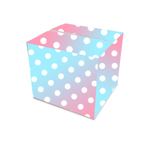 Wrapped Gender Reveal Balloon Box Guide
