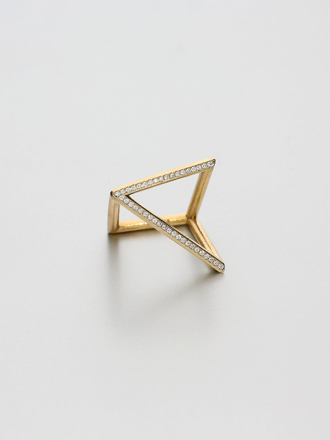 Vertex Ring, Rose gold