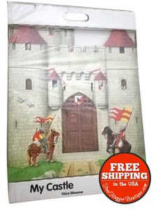 My Castle by Klaus Bliesener Portable Cardboard Play Castle Fort
