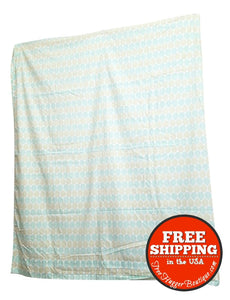 Modern Target Brand Retro Queen/Full Sheet Set Blue/Green - Sheet Set