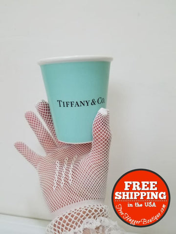 Tiffany Blue Paper Cup