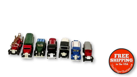 Lledo Chevron 1:64 Diecast Replica Lot Days Gone Commemorative Collectible Vehicles Set of 7 - model cars