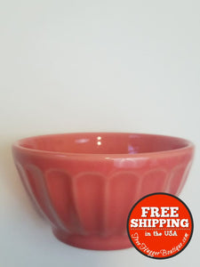 Coral Latte Bowl Made In Portugal