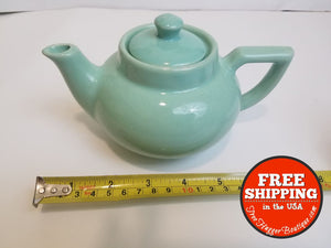 Usa Pottery Mint Green Teapot - Teapot