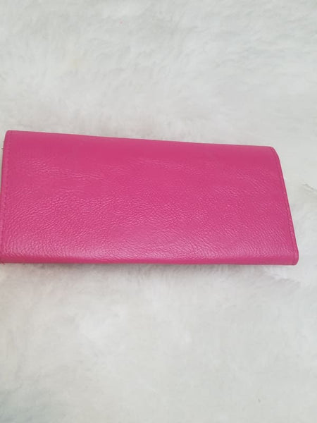 New Womens Hato Hasi Skinny Long Wallet Smoking Hot Pink Style Ub151164 - Wallets