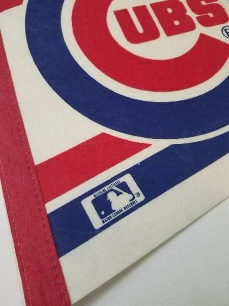 Vintage Official Mlb Chicago Cubs 30 Felt Pennant - Collectibles