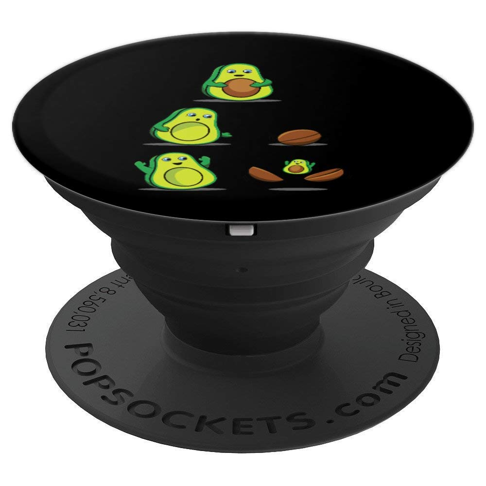 Avocado PopSocket for Phones and Tablets (Pregnancy Mamacado Lovers)