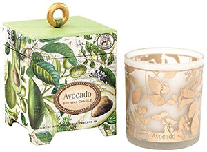 Michel Design Works Avocado Gift Boxed Soy Wax Candle