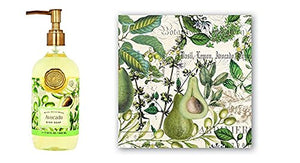 Michel Design Works Avocado Napkins and Hand Cream Set