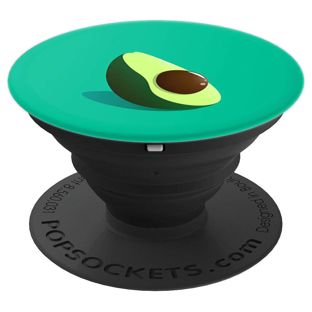Avocado PopSocket For Phones and Tablets (Teal Green)