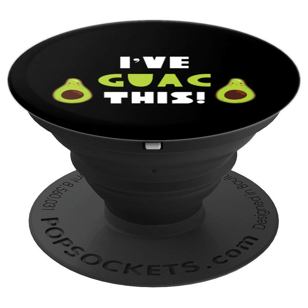 Avocado PopSocket for Phones and Tablets (I've Guac This)