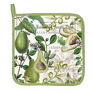 Michel Design Works Avocado Cotton Potholder