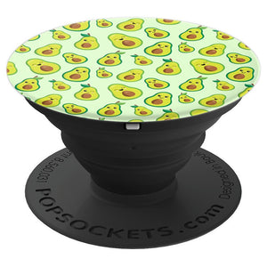Avocado PopSocket for Phones and Tablets (Cartoon Avocados)
