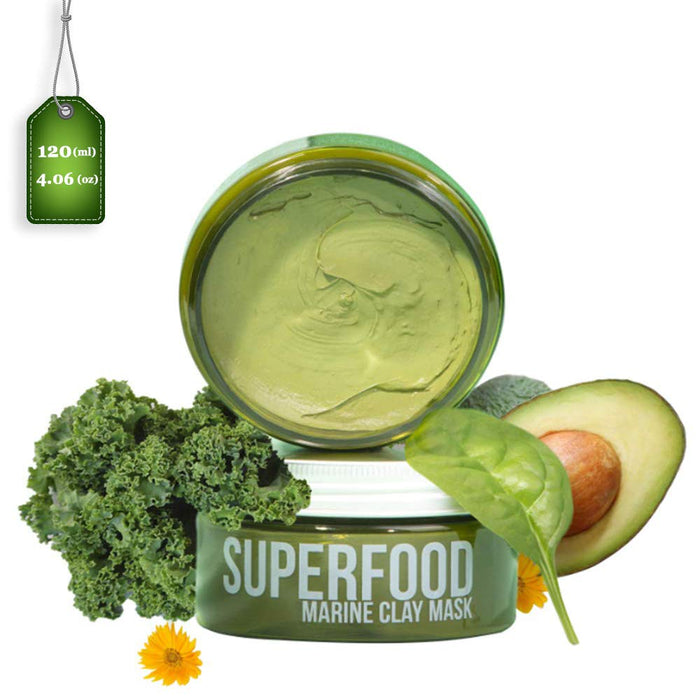 Plantifique Superfood Marine Clay Face Mask